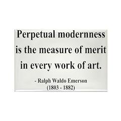 Ralph Waldo Emerson 28 Rectangle Magnet