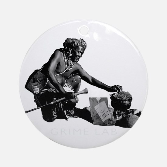 satire, hunger, hungry, third wor Ornament (Round)