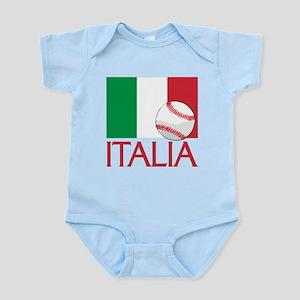 Italia Baseball Body Suit