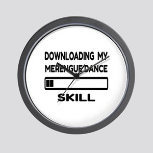 Downloading My Merengue dance Skill Wall Clock