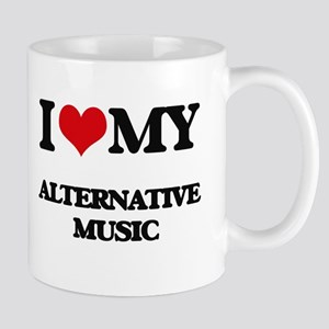 I Love My ALTERNATIVE MUSIC Mugs