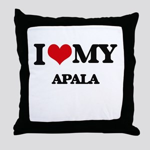 I Love My APALA Throw Pillow