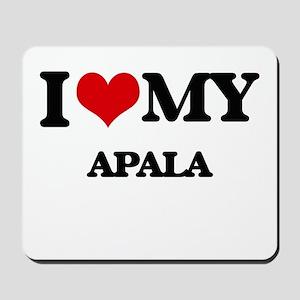 I Love My APALA Mousepad