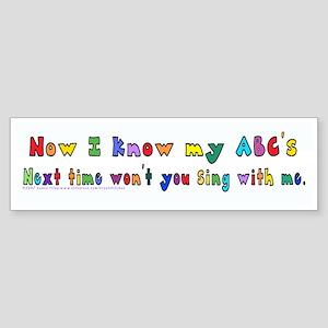 Alphabet Song Sticker