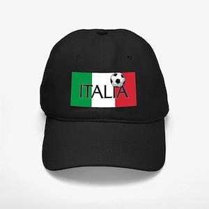 Italia Calcio / Soccer Black Cap
