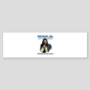 YOLO Jesus Bumper Sticker