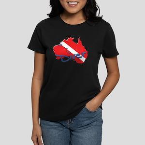SCUBA Countries: Australia Women's Dark T-Shirt