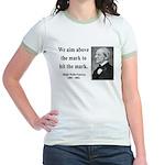 Ralph Waldo Emerson 32 Jr. Ringer T-Shirt