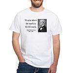 Ralph Waldo Emerson 32 White T-Shirt