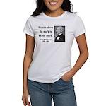 Ralph Waldo Emerson 32 Women's T-Shirt