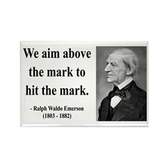 Ralph Waldo Emerson 32 Rectangle Magnet (10 pack)