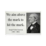 Ralph Waldo Emerson 32 Rectangle Magnet