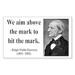Ralph Waldo Emerson 32 Rectangle Sticker
