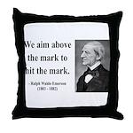 Ralph Waldo Emerson 32 Throw Pillow