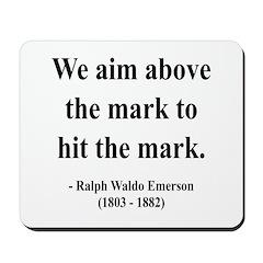 Ralph Waldo Emerson 32 Mousepad