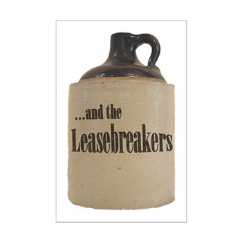 Leasebreakers Jug Mini Poster Print