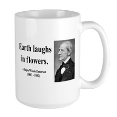 Ralph Waldo Emerson 33 Large Mug