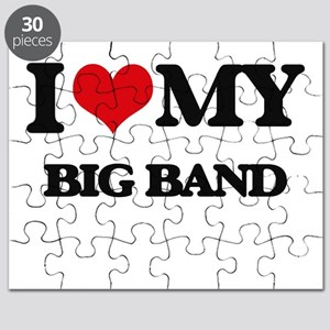 I Love My BIG BAND Puzzle