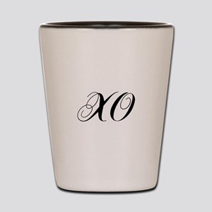 XO-cho black Shot Glass