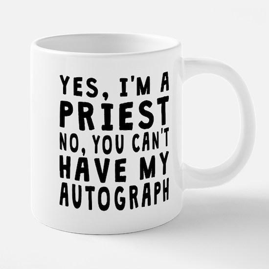 Priest Autograph Mugs