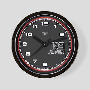 Vanguard K9 Alpha Wall Clock