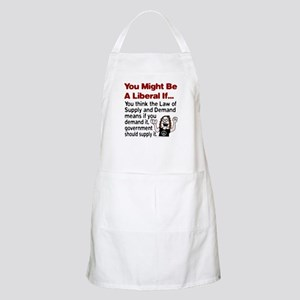 You Might Be A Liberal If You BBQ Apron
