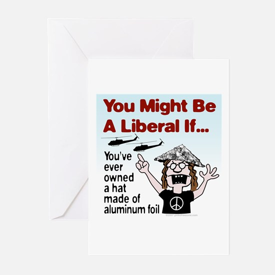 Liberal Paranoia Greeting Cards (Pk of 10)