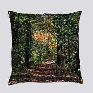 Forest trail Everyday Pillow