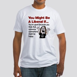Unhappy Liberals Fitted T-Shirt