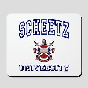 SCHEETZ University Mousepad