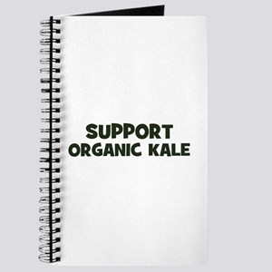 support organic kale Journal