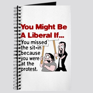 You Might Be A Liberal If You Journal