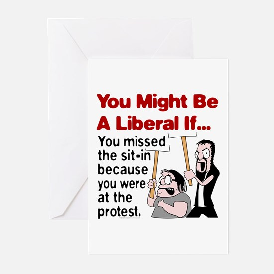 You Might Be A Liberal If You Greeting Cards (Pack