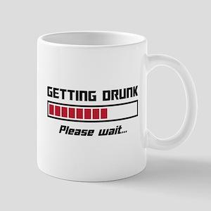 Getting Drunk Please Wait Loading Bar Mugs