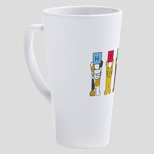 Hvala Slovenian Thanks 17 oz Latte Mug