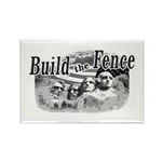 Build The Fence Rectangle Magnet (10 pack)