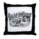 Build The Fence Throw Pillow