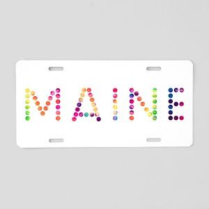 MAINE Aluminum License Plate