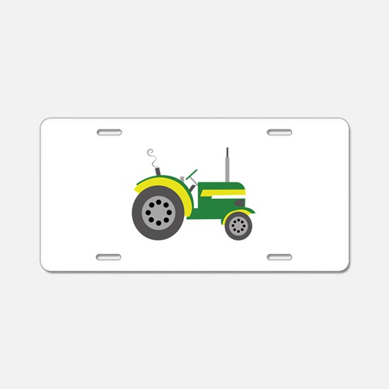 Tractor Aluminum License Plate