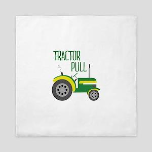 Tractor Pull Queen Duvet