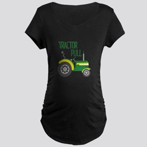 Tractor Pull Maternity T-Shirt