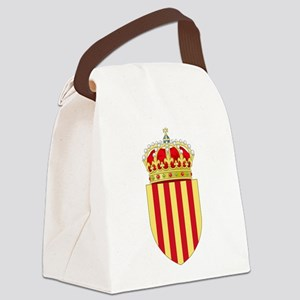 Catalonia Coat of Arms Canvas Lunch Bag