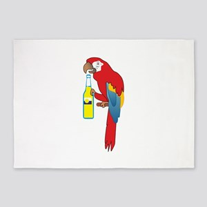 PARTY PARROT 5'x7'Area Rug