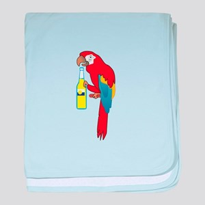 PARTY PARROT baby blanket