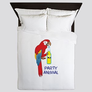 PARTY ANIMAL Queen Duvet