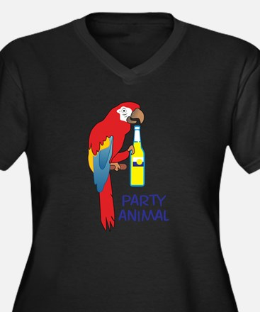 PARTY ANIMAL Plus Size T-Shirt