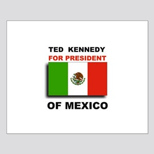 MEXICAN TEDDY Small Poster