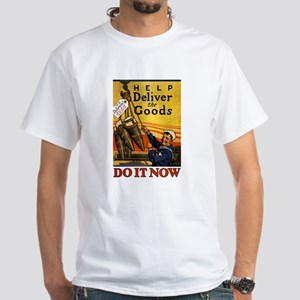SPECIAL DELIVERY white t-shirt