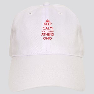 Keep calm you live in Athens Ohio Cap