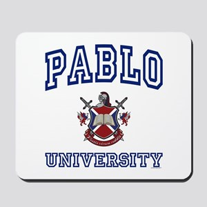 PABLO University Mousepad
